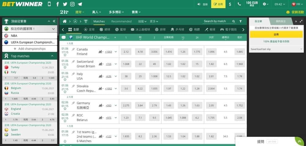 體育博彩固定賠率-betwinner-com