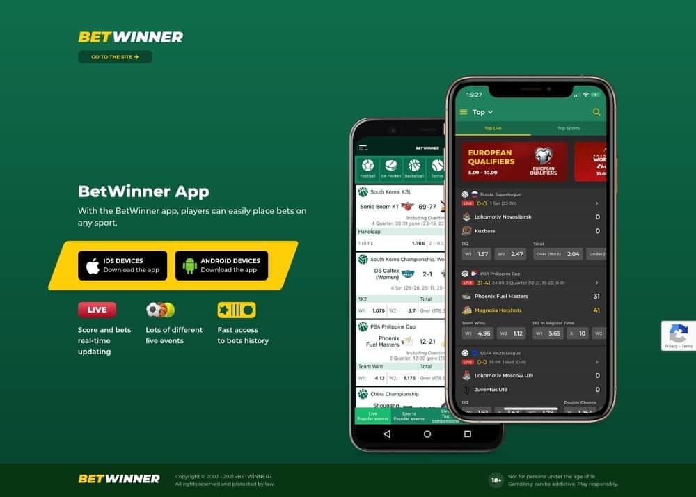 betwinner手機平板遊戲介面下載